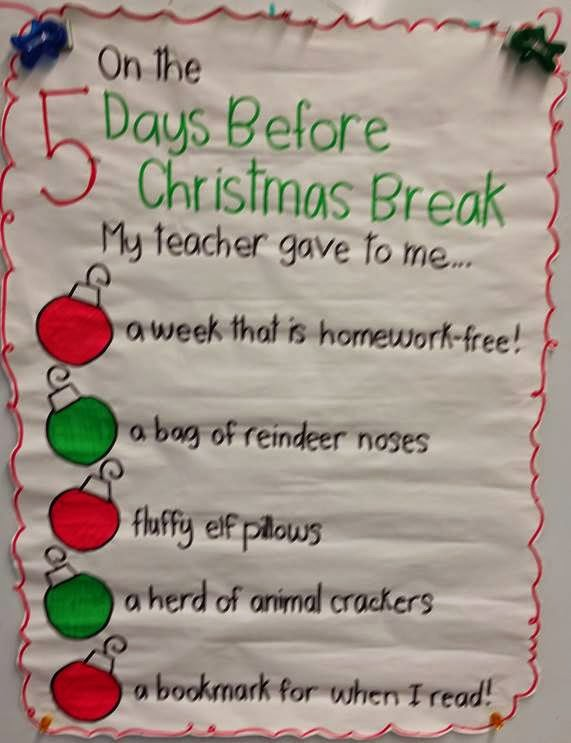 on the 3rd 4th and 5th day before christmas break my teacher gave to me - When Is Christmas Break