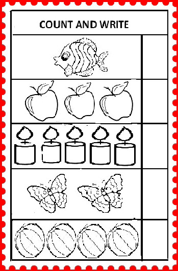 KINDER SMART WORK : WORKSHEET 2
