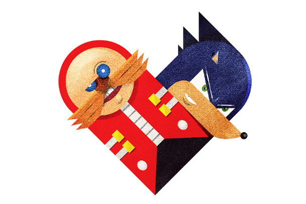 Versus/Hearts by Dan Matutina - The Egg and The Spike