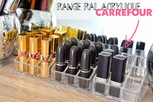 Fana cosmetiques rangements makeup mes trucs et astuces - Astuce rangement maquillage ...