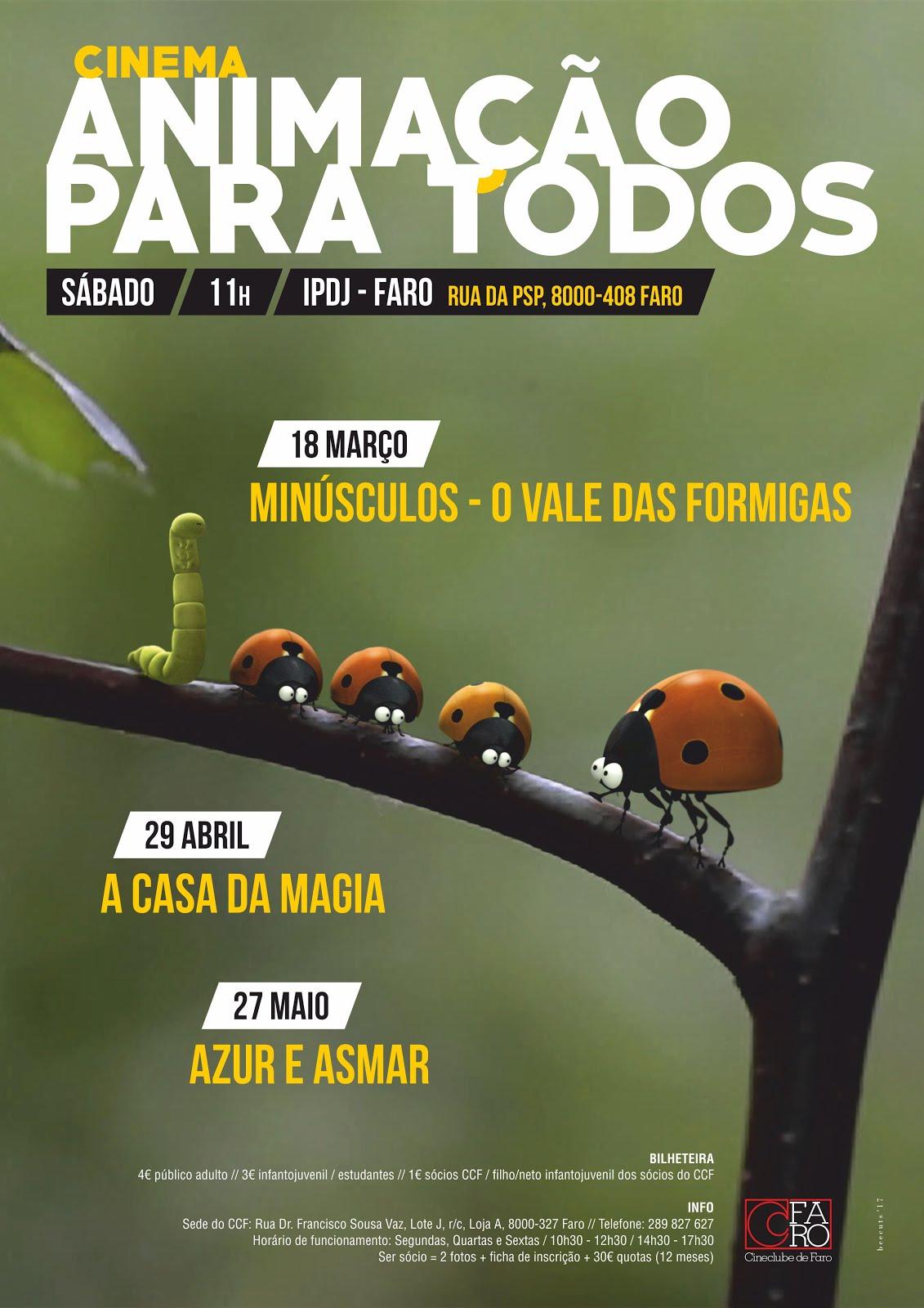 ANIMAÇÃO PARA TODOS // matiné PT // TEMPORADA