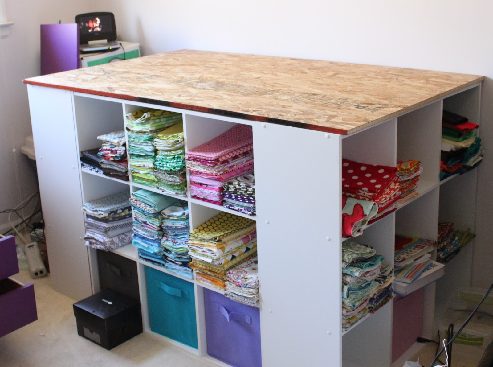 Red Poppy Quilts The Sewing Room Re Design Part 2