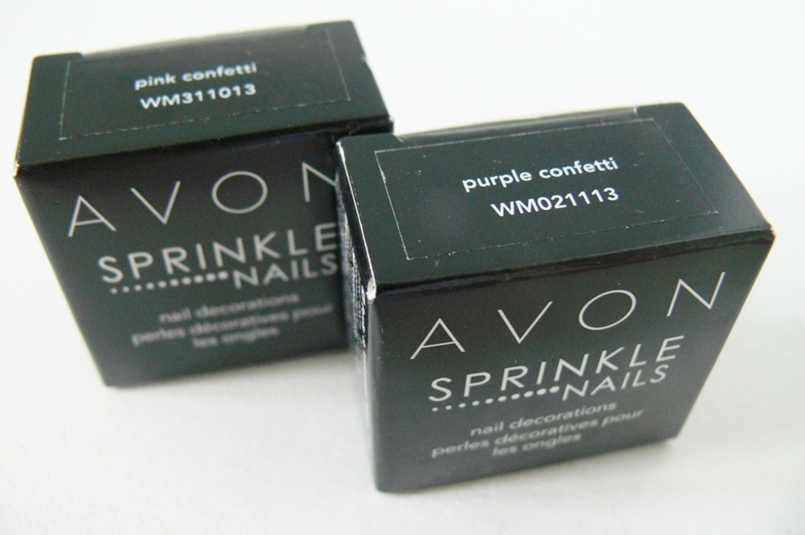 Avon Sprinkle Nails