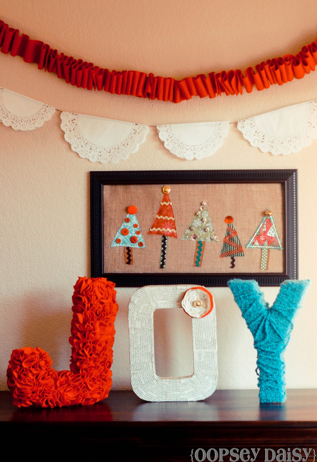 Christmas Wall Decoration Pinterest : Christmas tree wall art swell noel positively
