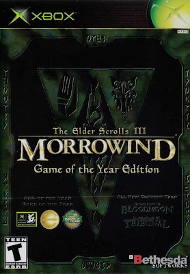 Morrowind GOTY Xbox Cover Art