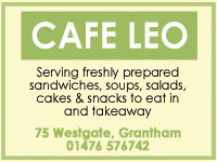 Cafe Leo advert
