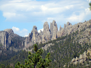 Views from the Needles Highway in Custer State Park in South Dakota