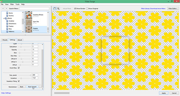 DesignEasy Filter Forge Filters To Create Photoshop's Seamless Cool Create Pattern Photoshop