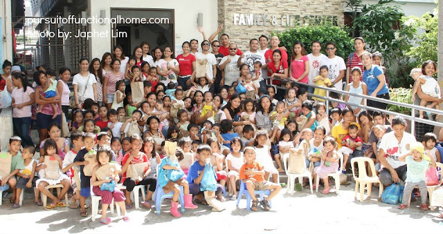 December 2012 Outreach Program. A photo of the beneficiaries and the team of December outreach program.