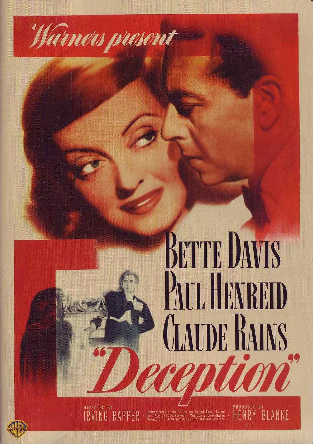 Смотреть фильм обман 1946  бесплатно в хорошем