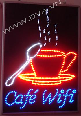 Làm đèn LED, bảng hiệu LED