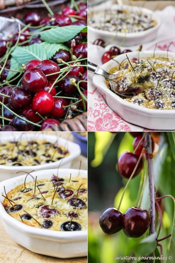 cerises, gâteau,pâtisserie, gourmandise, dessert, fruits