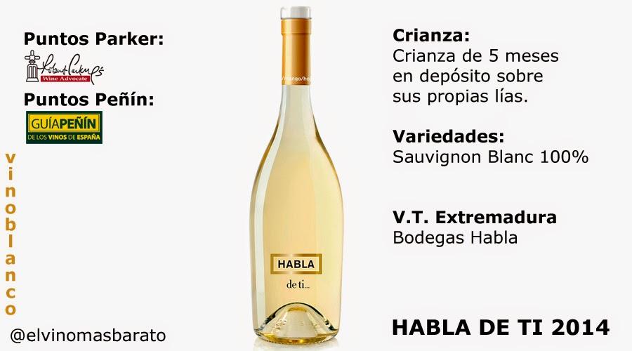 Comprar habla de ti 2014 de bodegas habla el vino m s for Habla de ti blanco precio