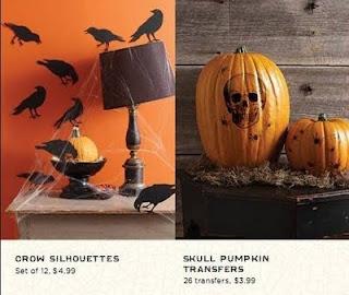 Detalhe de decoração de Halloween
