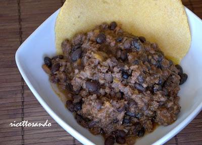 Chili con carne ricetta di carne messicana
