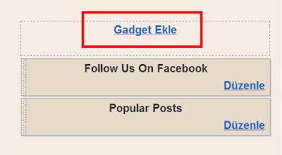 Blogspot İçin Otomatik Ping Atma