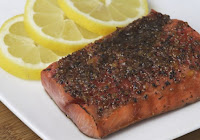Citrus Broiled Alaska Salmon | Healthy Sea Food Broiled Alaska Salmon Recipe