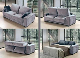 Sof s cama para aprovechar mejor el espacio mobles - El mejor sofa cama ...