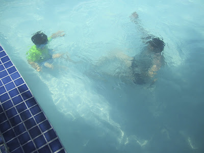 rockbridge times: Friends, Kids and Learning to Swim Underwater