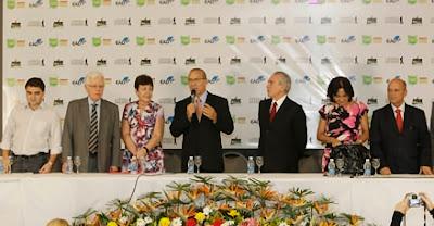 Michel Temer, Moreira Franco, Gabriel Souza