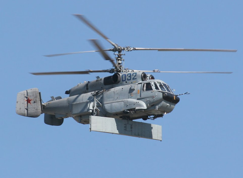Ka-31 Helix Airborne Early Warning Helicopter