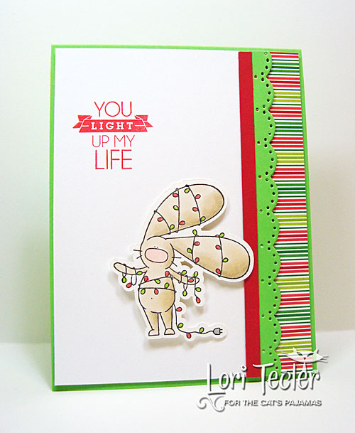 You Light up My Life card-designed by Lori Tecler/Inking Aloud-stamps from The Cat's Pajamas