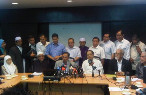 SIDANG MEDIA MAJLIS PIMPINAN PAKATAN RAKYAT ( ISU HUDUD ) : 29/09//2011