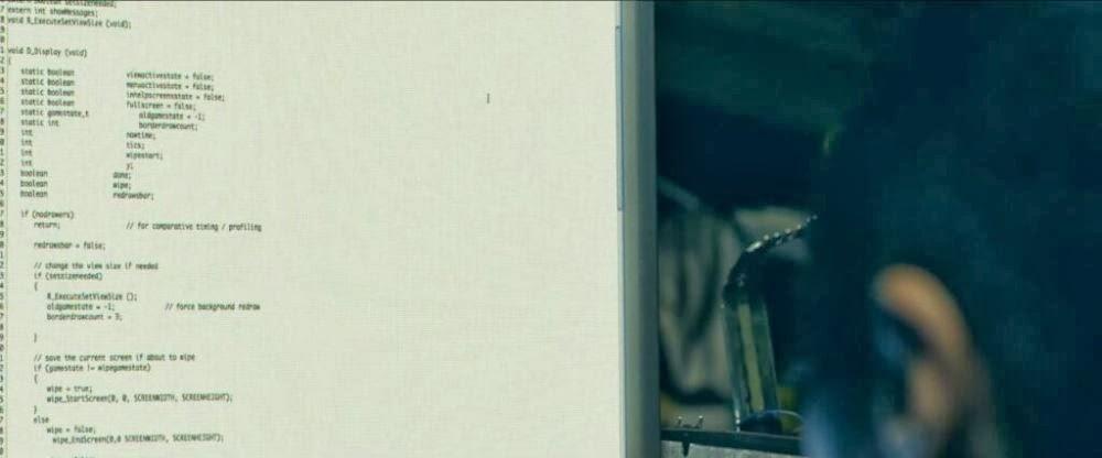 В клипе группы Ramona Falls на песню Fingerhold используется исходный код игры Doom.