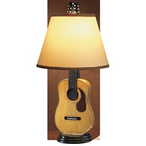 Guitart acoustic guitar jewelry a table lamp specially designed for a guitar freak me aloadofball Images