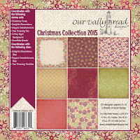 Our Daily Bread designs Christmas Paper Collection 2015