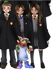 Eu, Neville, Lisa e Dobby