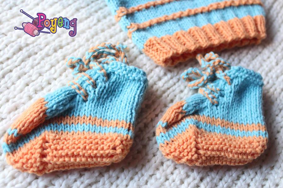 Ajeng Belajar Merajut: Rajut Free Knitting Pattern : Converse baby shoes and ...