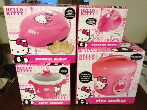Now I Need To Figure Out Where To Put All Of These In My Kitchen Since It Is Pretty Small And Tight On Space Due To All The Other Hello Kitty Items