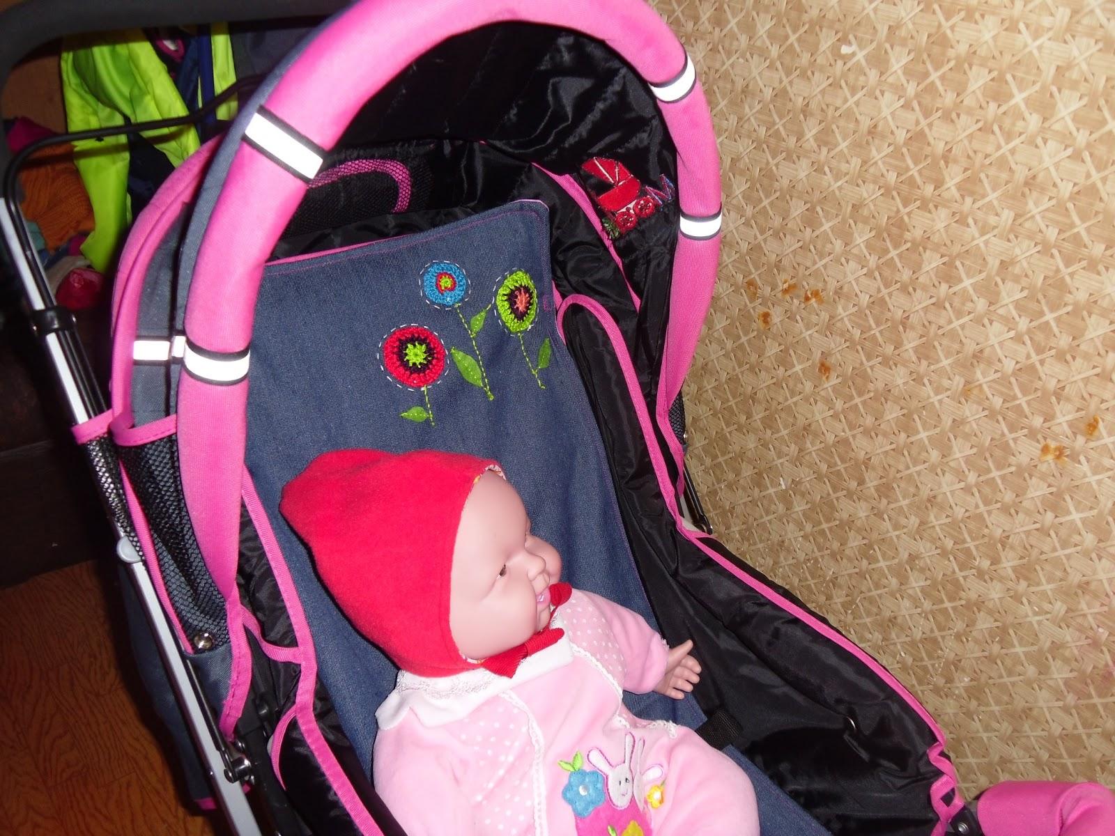 Новая жизнь кукольной коляски как перешить сиденье 42