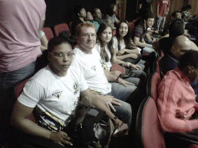 Fernanda, Sensei Léo, Josiane e Mairim