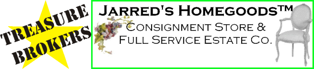 Treasure Brokers - Jarred's Estates, Antiques & Home Furnishings