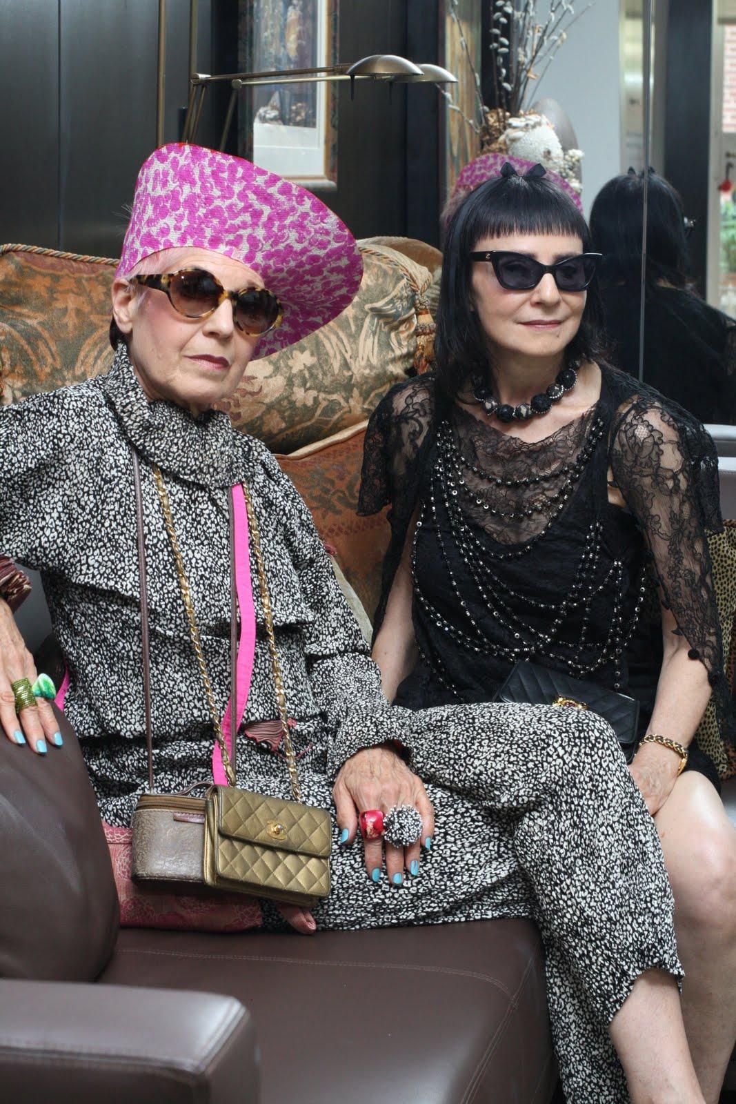 Фото старых модных бабушек 12 фотография