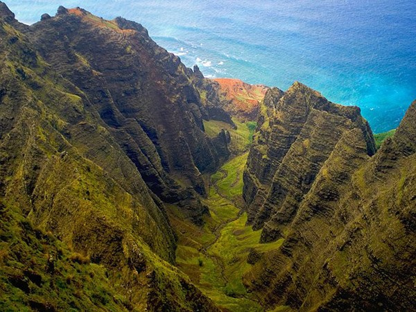 Awaawapuhi Trail, Kauai, Hawaii