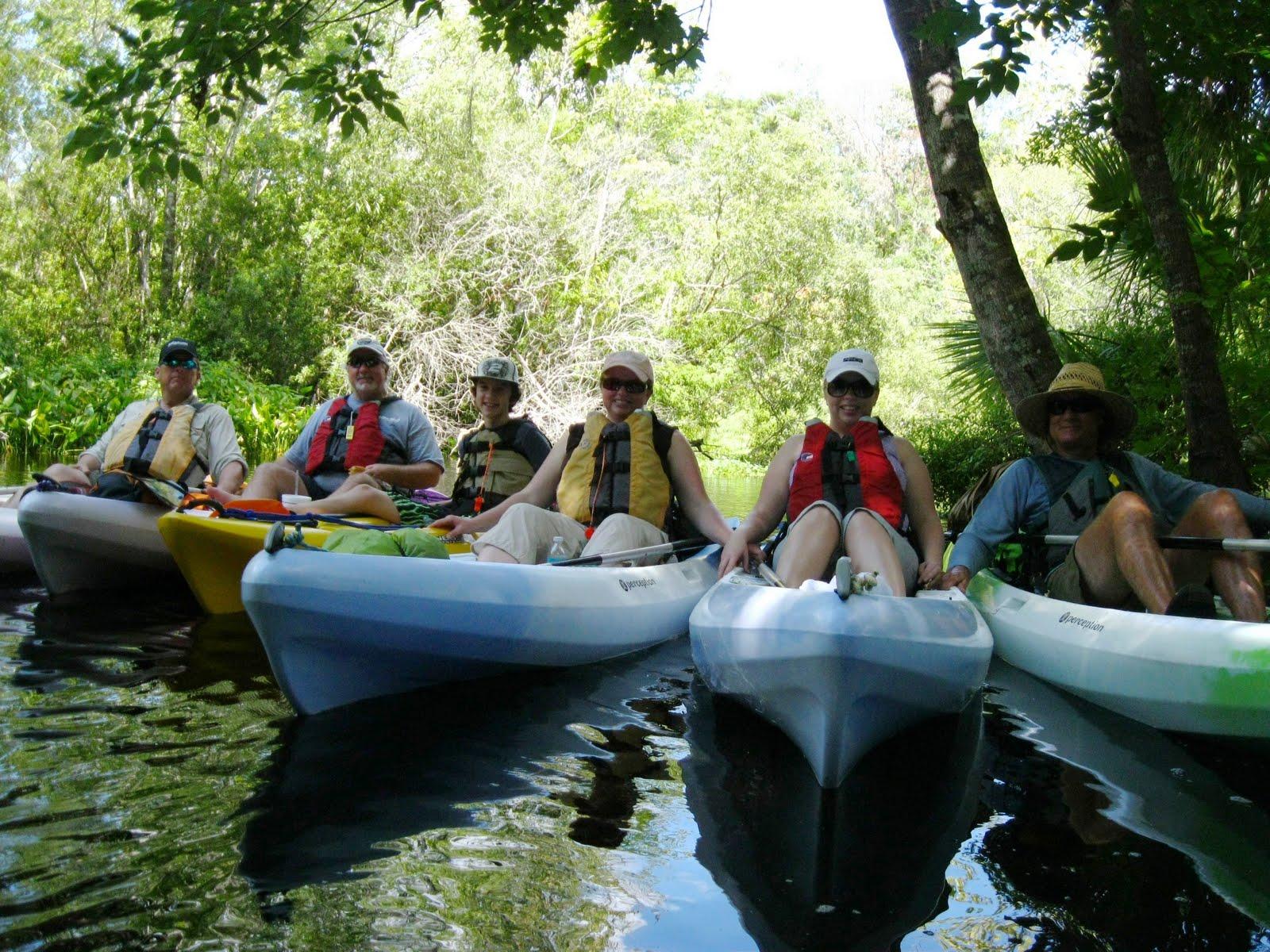 Wekiva River Monkeys Day on The Wekiva River