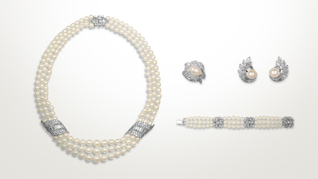 Engagement parure in pearls, Grace of Monaco, Van Cleef & Arpels