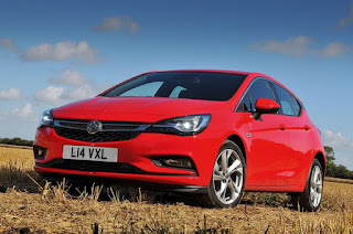 2015 New Vauxhall Astra Generation front view
