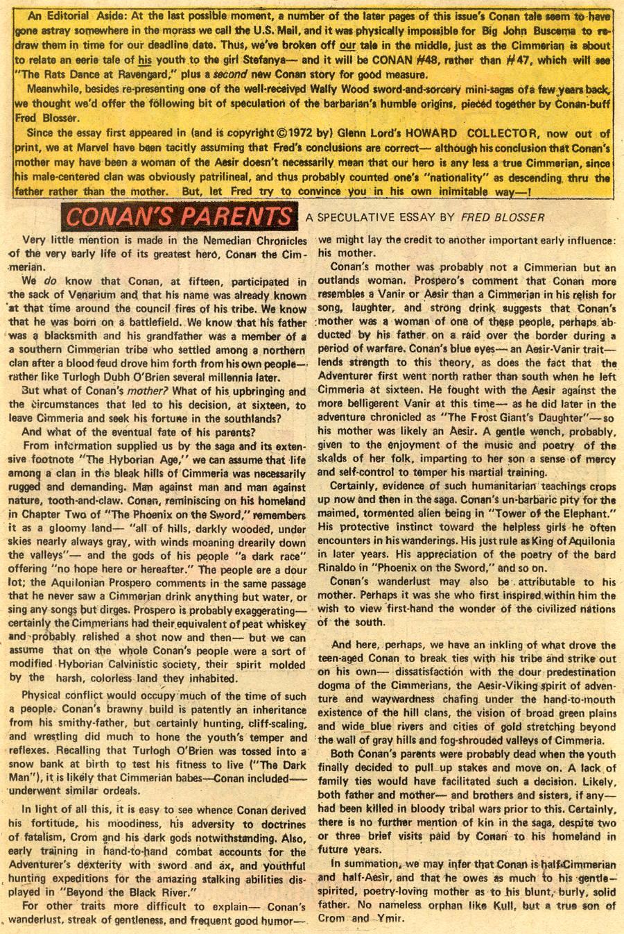 Conan the Barbarian (1970) Issue #47 #59 - English 18