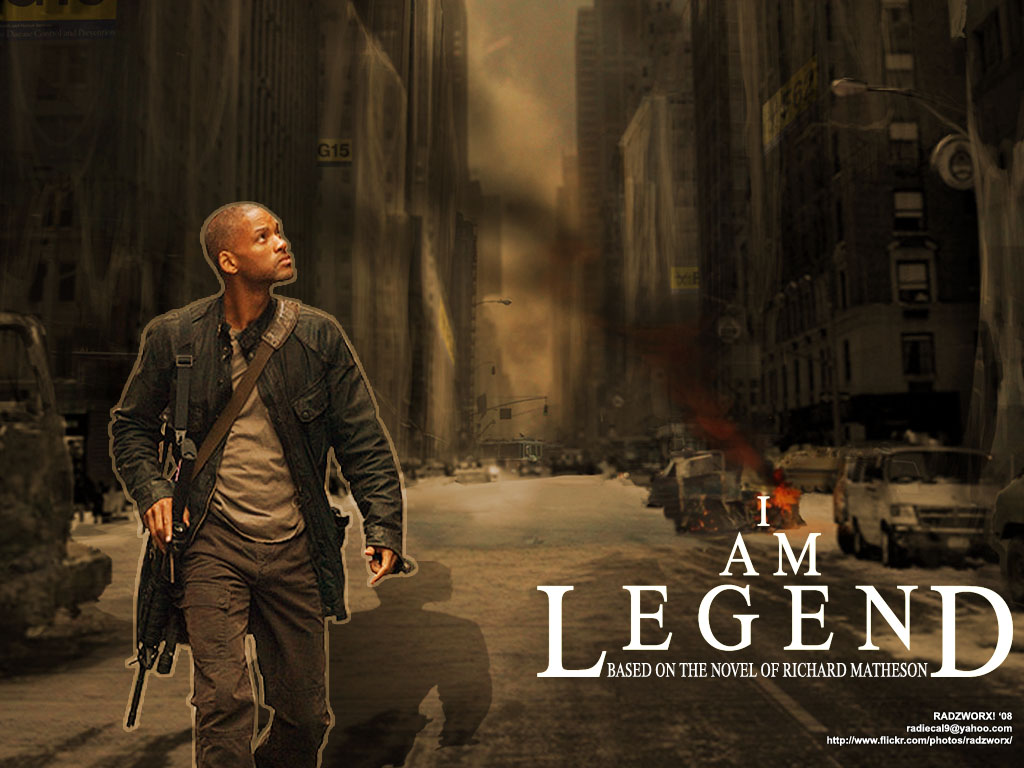 I Am Legend Movie OneLife Movie Posters:...