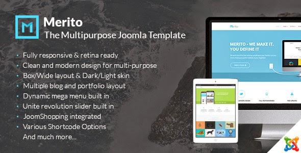 Free Joomla Multipurpose Template
