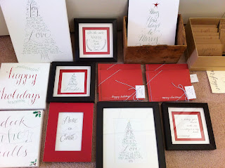 holiday calligraphy gifts