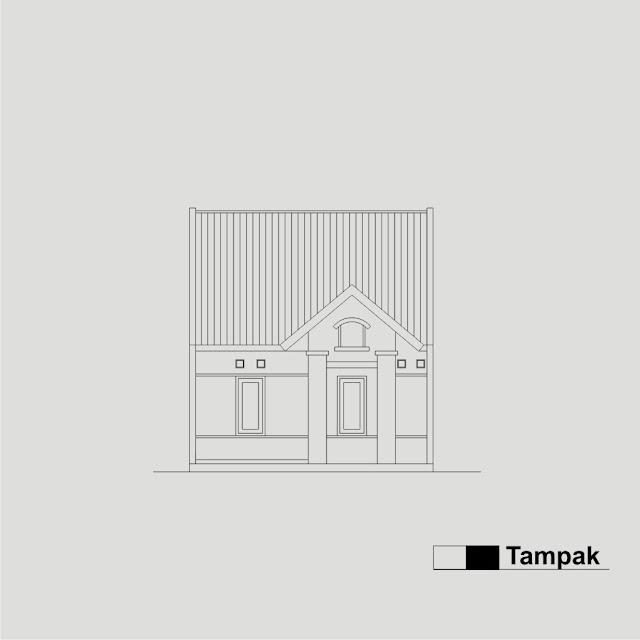 Tampak Depan Rumah Tipe 36