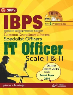 IBPS - Common Recruitment Process Specialist Officers IT Officer Scale 1 & 2 (With CD) : Includes Solved Paper 2014 (English) 5 Edition