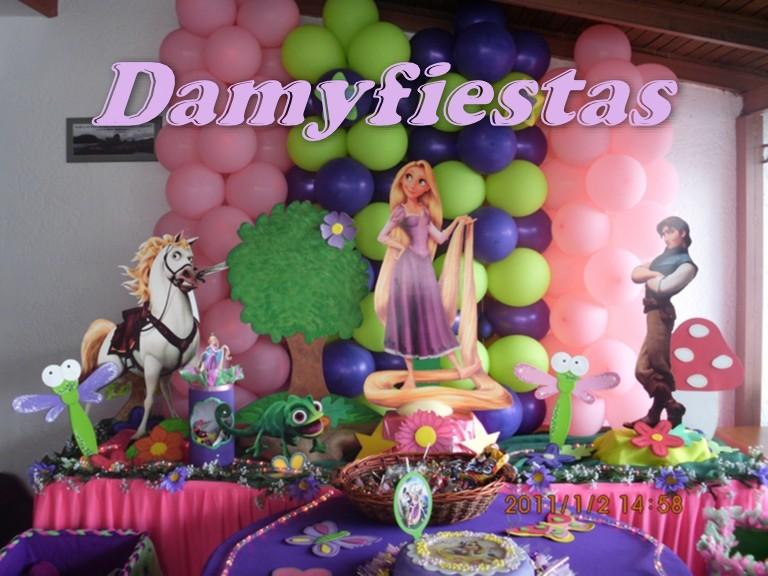 Decoracion De Rapunzel Para Fiestas Infantiles ~ Lo mejor para sus fiestas Infantiles Fiesta de Rapunzel de Enredados