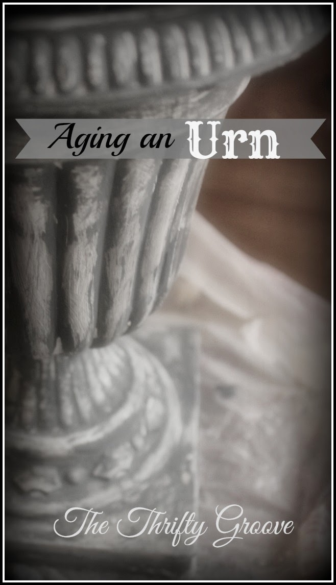 How to Age a Plastic Urn