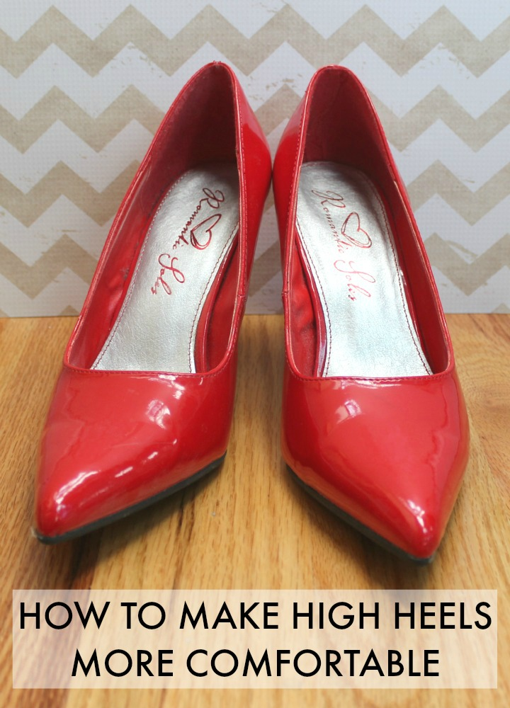 Tips & Tricks: How To Make High Heels More Comfortable ...